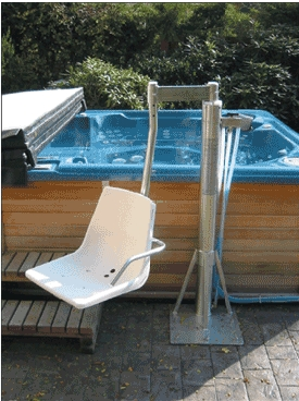 Man-Turn Above-Ground Pool/Spa Lifts