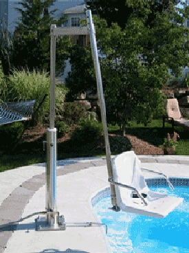 Man-Turn In-Ground Pool/Spa Lifts