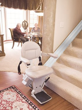 stair lift in house