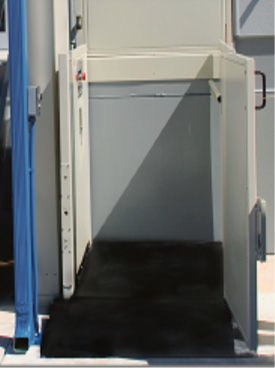 Vertical Platform Conveyance-Unenclosed Lift